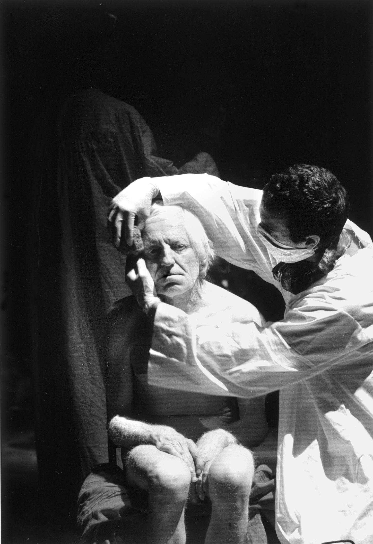 """Giulio Cesare"" de Romeo Castellucci, d'après Shakespeare. Photo © Festival d'Avignon."