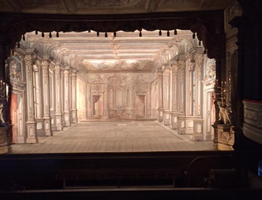 Théâtre de Cesky Krumlov, République Tchèque. Photo © G. Banu