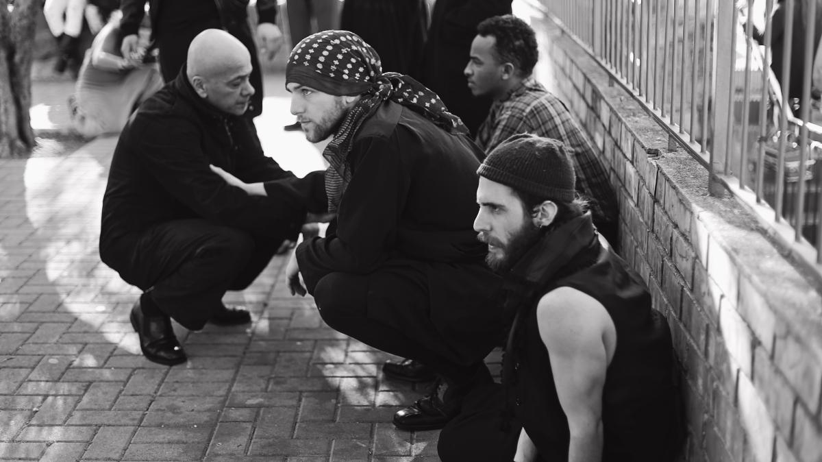 Jean-Baptiste Tur, Florent Hill, Issam Kadichi et Karim Zennit. Photo D.R.