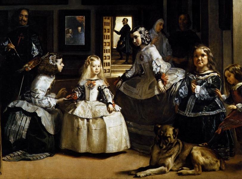 Las Meninas, Diego Velasquez, Musée du Prado, Madrid.