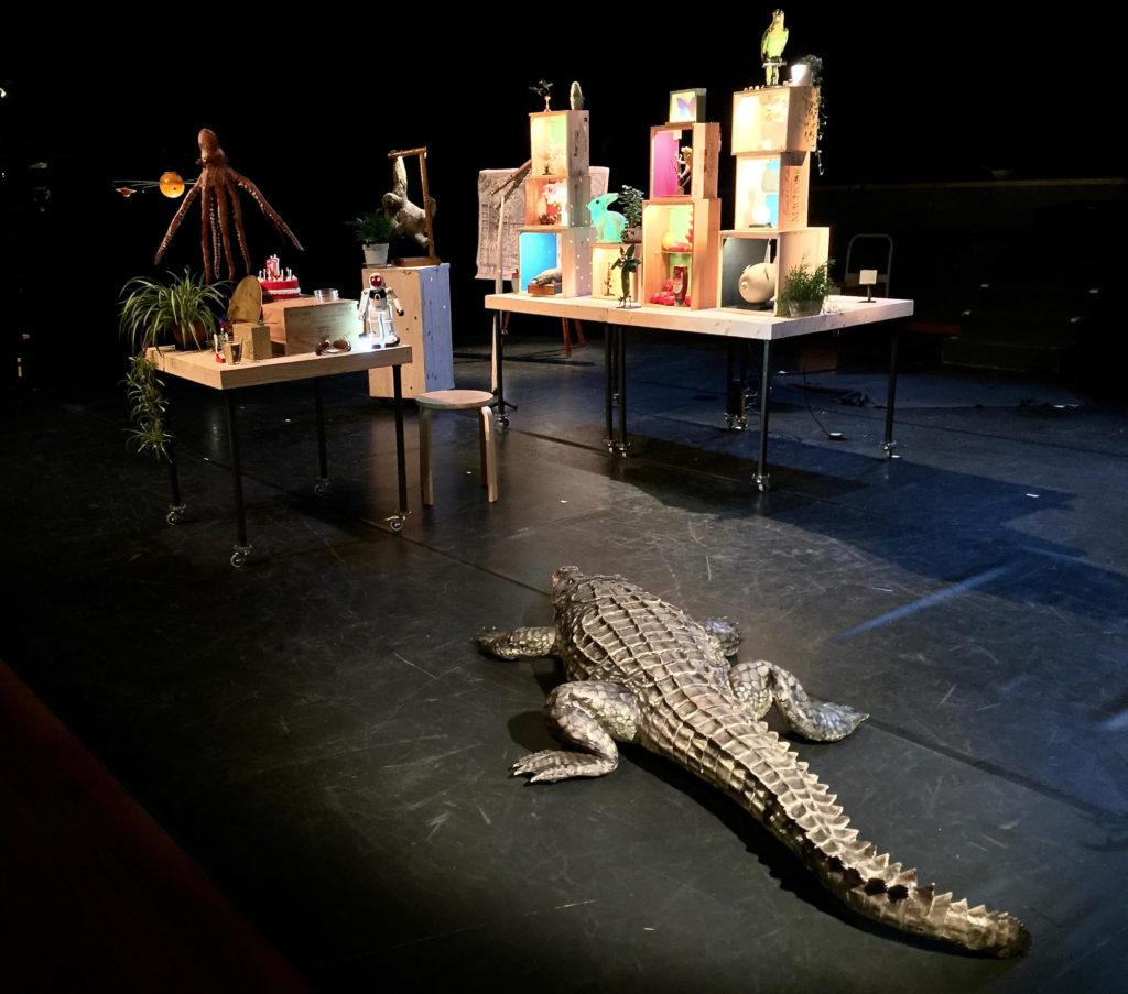 Spectacle Isabelle Dumont_Le cabinet des curiosités_Crocodile
