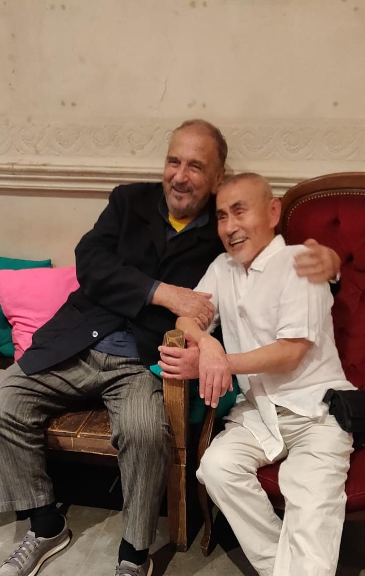 Jean-Claude Carrière et Yoshi Oida