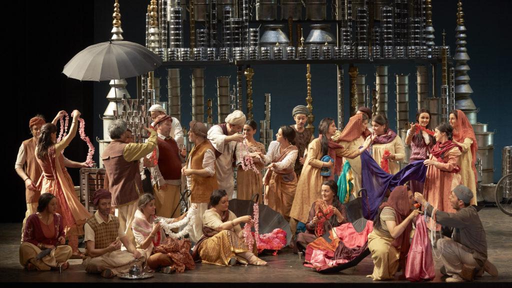 Lakmé, costumes de Hanna Sjödin, Opéra Comique, 2014. Photographie Pierre Grosbois