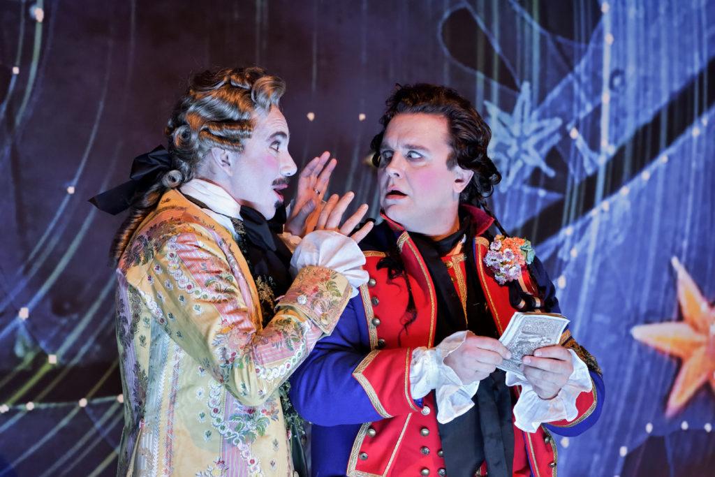 Le Postillon de Lonjumeau, costumes de Christian Lacroix, Opéra Comique, 2018. Photographie Stefan Brion