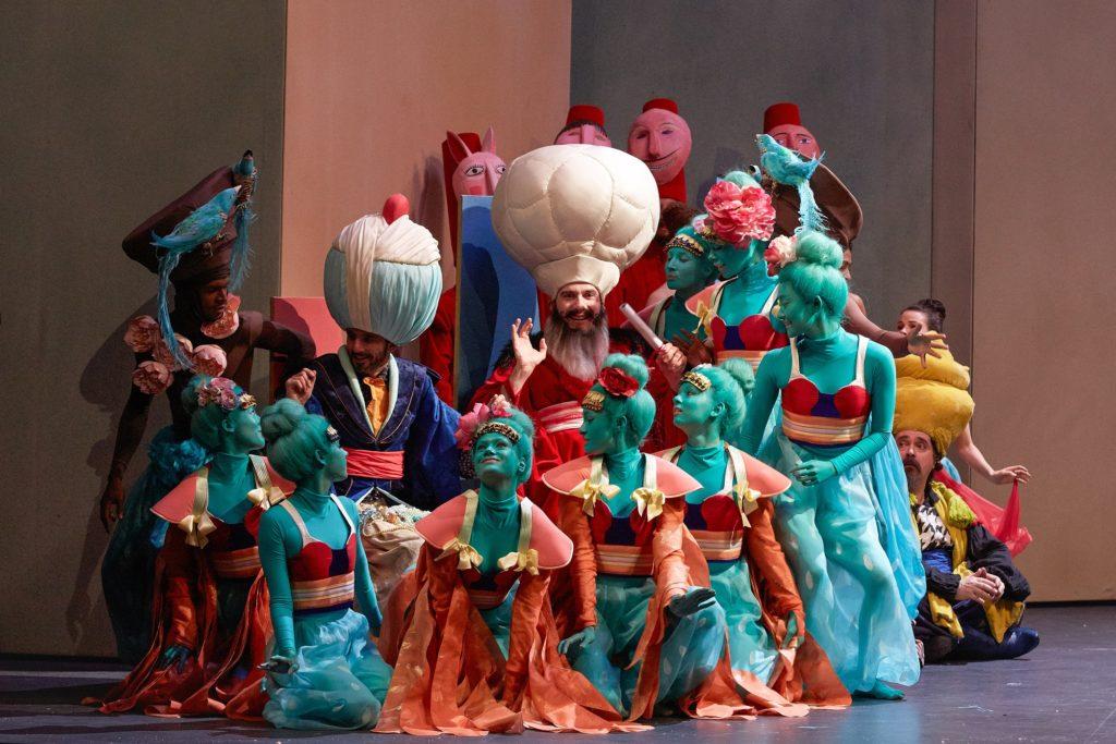 Mârouf, savetier du Caire, costumes de Vanessa Sannino, Opéra Comique, 2013. Photographie Pierre Grosbois