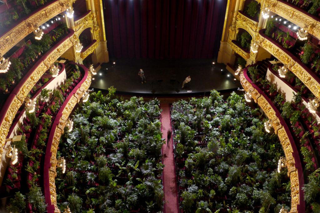 Eugenio Ampudia, Concierto para el bioceno (concert pour le Biocène), Barcelone, 2020.2