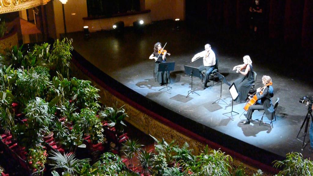 Eugenio Ampudia, Concierto para el bioceno (concert pour le Biocène), Barcelone, 2020.3